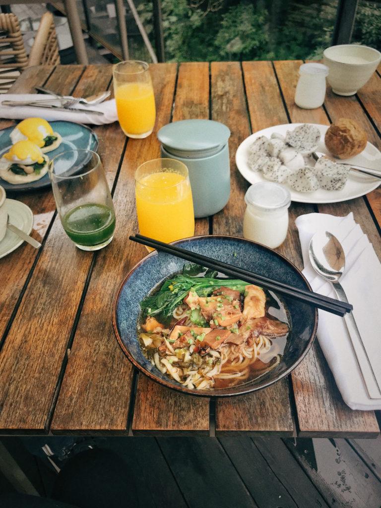 alila yangshuo breakfast